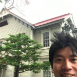 北海道、札幌にて